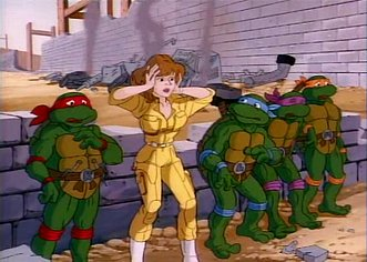 Teenage Mutant Ninja Turtles Cartoons 1987 Aaronsmediamadness